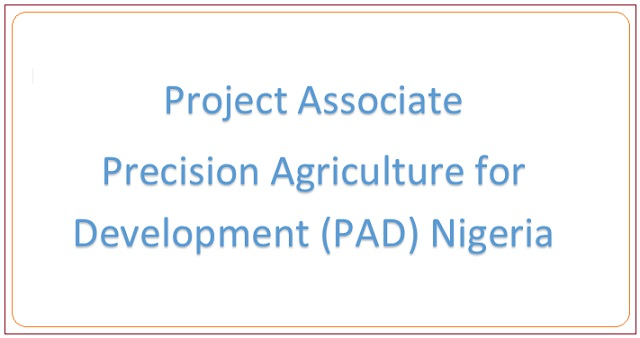 Project-Associate-PAD-Nigeria