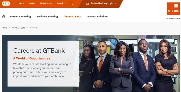 guaranty trust bank nigeria recruitment 2014