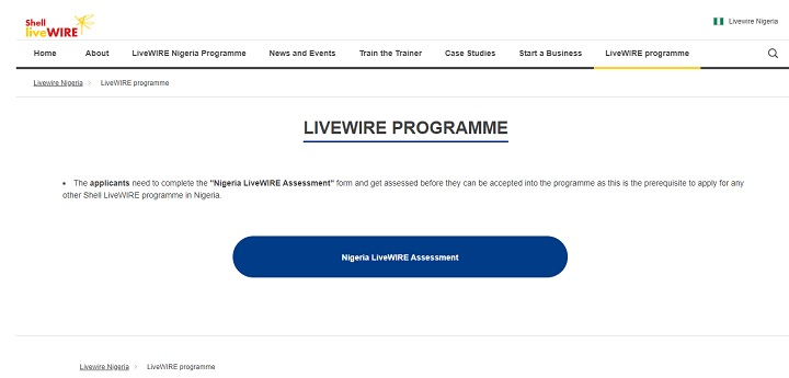 Shell-LiveWIRE-Programme