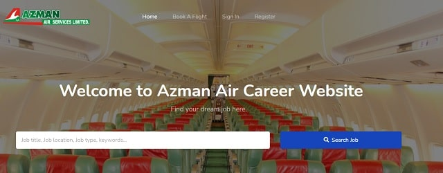 Azman Air Job Recruitment
